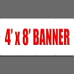 4' X 8' Full Color Banner
